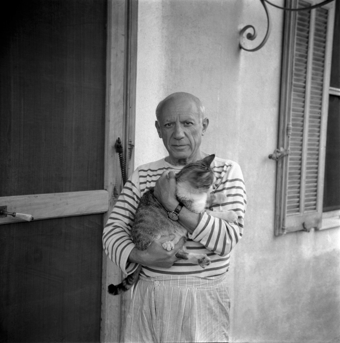 07f870da8f72 A Donation to the Picasso. With a Cat