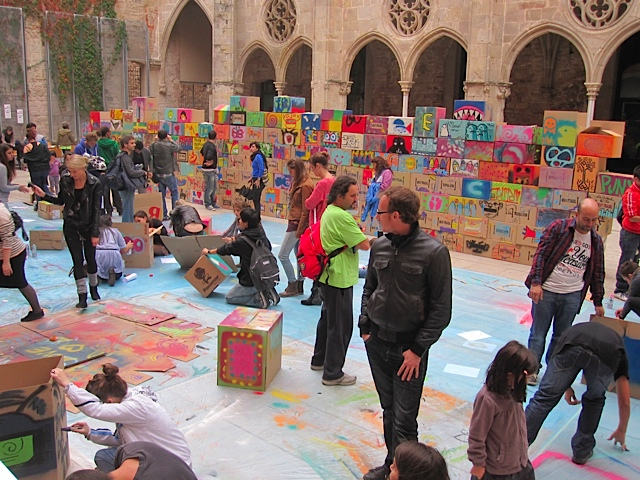 Participants al Big Draw