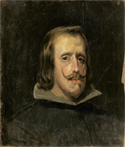 Copy of a portrait of Philip IV