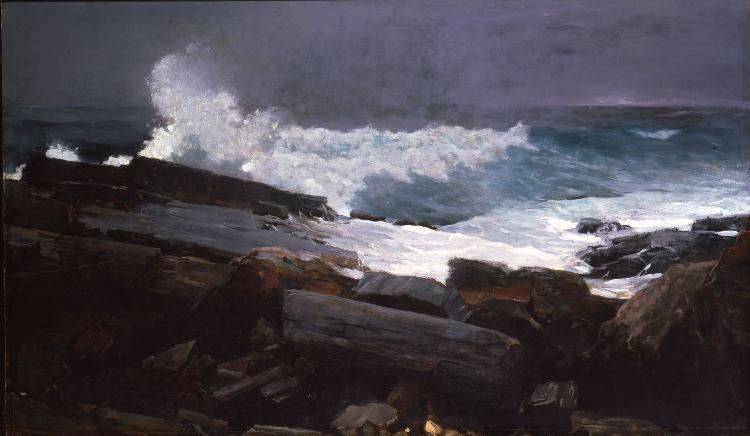 Winslow Homer, Weatherbeaten, 1894, oil on canvas
