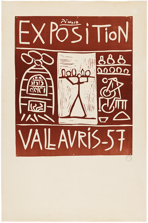 Pablo Picasso - Exposition Vallauris - 57