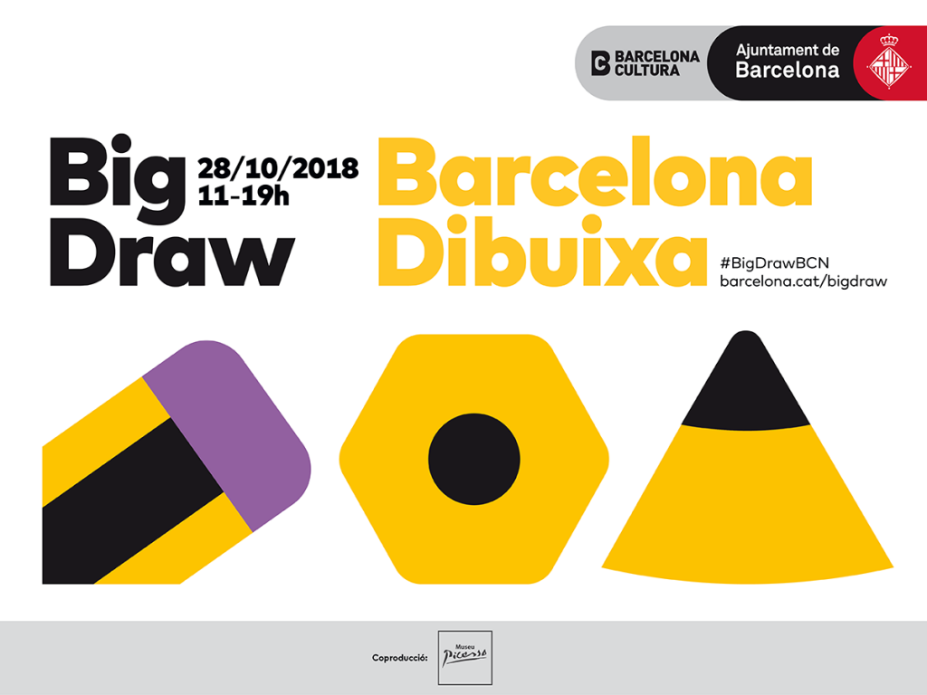 On 28th October we will be celebrating the biggest Big Draw BCN in history!